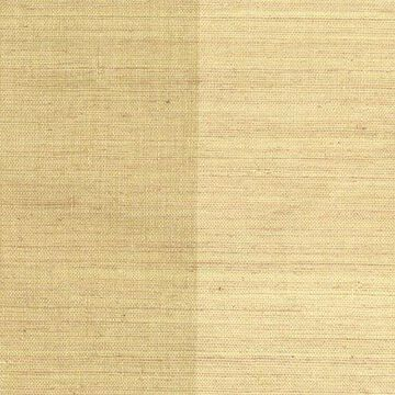 Kenneth James Zhen Beige Grasscloth Wallpaper