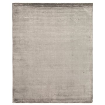 Exquisite Rugs Silky Touch Silver Viscose Rug - 8' x 10'