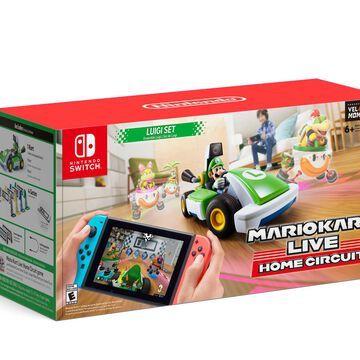 Mario Kart Live: Home Circuit - Luigi Set, Nintendo, Nintendo Switch 00045496882846