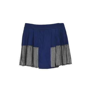 Paco Rabanne Navy Wool Skirts