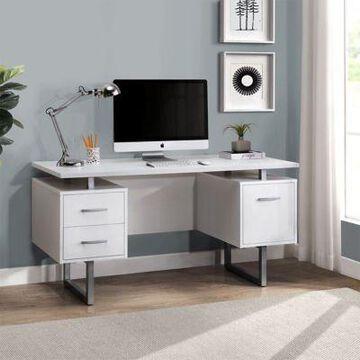 Sunjoy Studio Space Deja 60 in. Pedestal Desk, G104000500