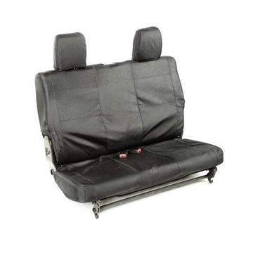 Rugged Ridge 13266.07 Seat Cover For Jeep Wrangler (JK), Black Solid Design