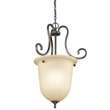 Kichler 43181 Feville Single-Bulb Indoor Pendant - Olde Bronze