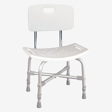 Deluxe Bath Bench by Drive Medical in White