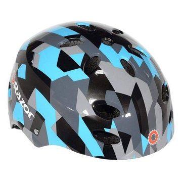 Razor Geo Multi-Sport Youth Helmet, Blue/Black