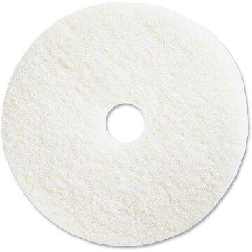 Genuine Joe, GJO90513, Polishing Floor Pad, 5 / Carton, White