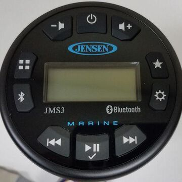 Jensen JMS3 Marine UTV Motorcycle Waterproof Bluetooth Stereo MS3A Replacement