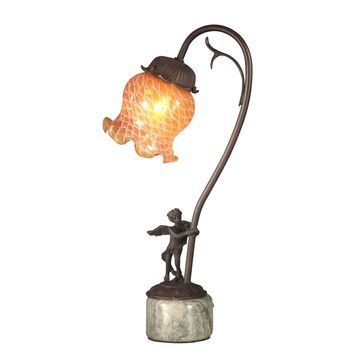 Dale Tiffany Cherub Base Accent Lamp