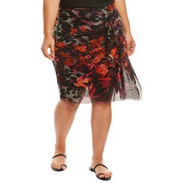 Fuzzi Plus Pencil Skirt