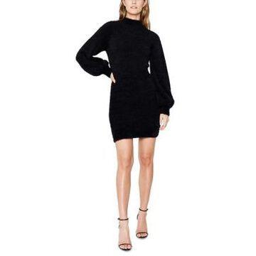 Bardot Balloon-Sleeve Sweater Dress