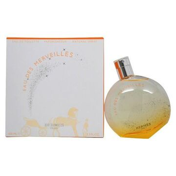 Eau Des Merveilles by Hermes, 3.3 oz EDT Spray for Women