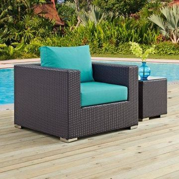 Modway Convene Outdoor Patio Armchair, Multiple Colors
