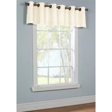 Commonwealth Home Fashions Weathermate Grommet Window Valance -