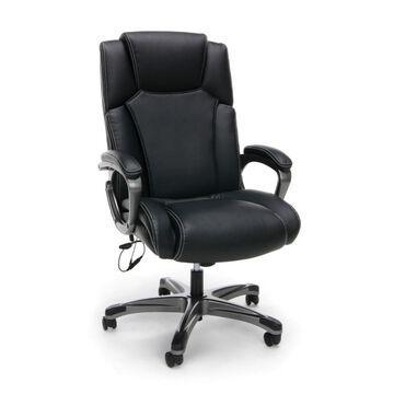 Leather Shiatsu Heated Massage Chair - OFM