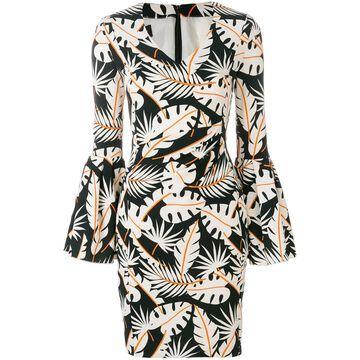 jungle print dress