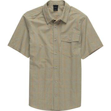 NAU Bloq Button Up Short-Sleeve Shirt - Men's
