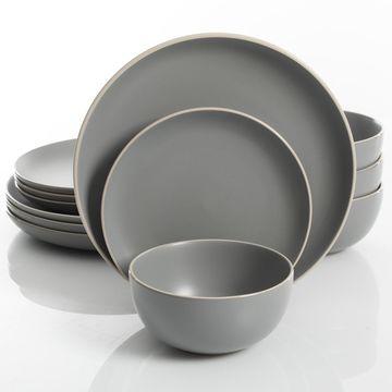 Rockaway 12-piece Dinnerware Set