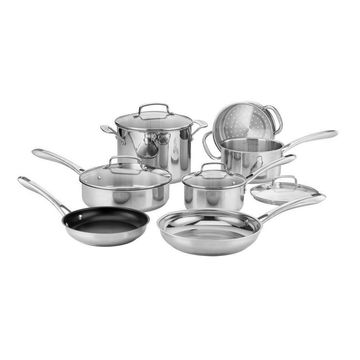 Cuisinart Classic 11pc Stainless Steel Cookware Set - 83-11N