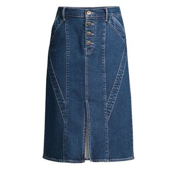 3x1 / Jason Wu Denim Pencil Skirt