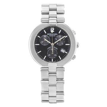 Raymond Weil Men's 4817S-BLK 'Allegro' Chronograph Stainless Steel Watch
