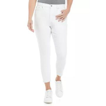 Calvin Klein Jeans Women's High Rise Cropped Skinny Jeans -