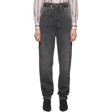 Isabel Marant Etoile Black Gloria Jeans