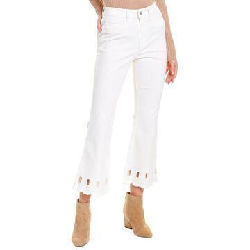 Dl1961 Premium Denim Wallace Mallorca High-Rise Cropped Flare Leg Jean