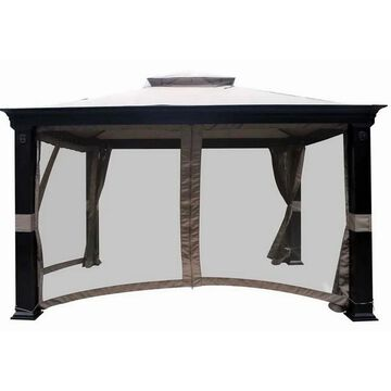 Sunjoy Replacement Canopy set (Deluxe) for L-GZ025PCO-7A 10X12 Thrshd Tivering Gazebo