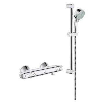 Grohe Grohtherm Single Function Shower Kit, StarLight Chrome