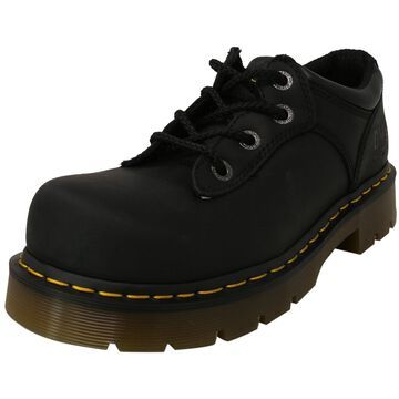 Dr. Martens Naseby St Industrial Greasy Ankle-High Leather and Construction Shoe