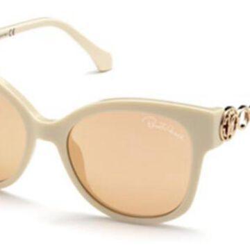 Roberto Cavalli RC 1080 25U Womenas Sunglasses Yellow Size 53
