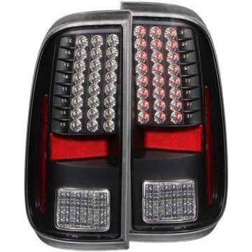 ANZO USA 311127 08-15 SUPER DUTY LED TAIL LIGHTS LED BLACK