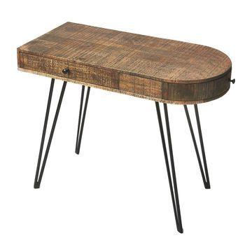 Offex Home Decorative Writing Desk Offex Loft Finish