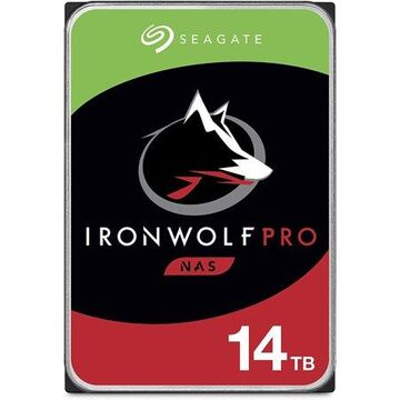 Seagate IronWolf Pro 14TB NAS Internal Hard Drive HDD CMR 3.5 Inch SATA 6Gb/s 256MB Cache for RAID Network Attached Storage, Data Recovery Service (ST14000NE0008)
