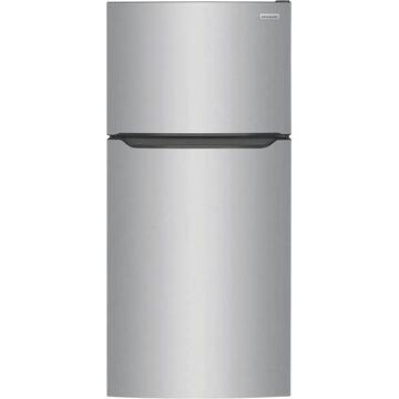 Frigidaire 20-cu ft Top-Freezer Refrigerator (EasyCare Stainless Steel)   LFTR2045VF