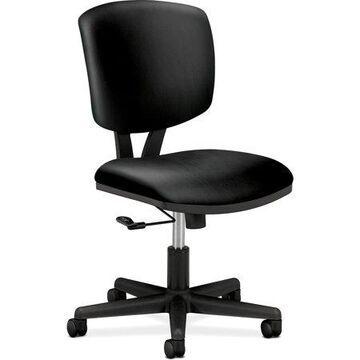 HON, Volt Task Chair, SofThread Leather, 1 / Each, Black
