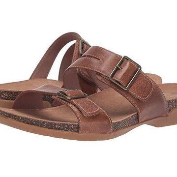 Dansko Rosie (Tan Waxy Burnished) Women's Shoes
