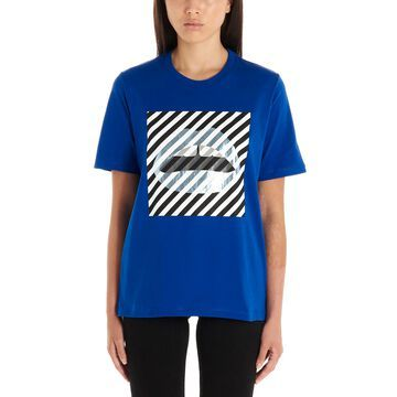 Markus Lupfer diagonal Stripe Lip -shirt