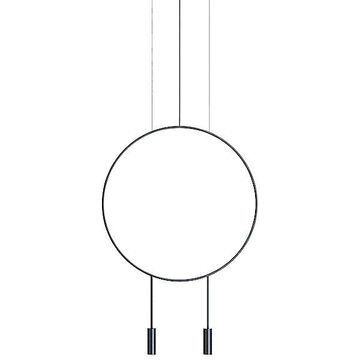 Estiluz Revolta Pendant Light - Color: White - Size: Large - 113635710U_1x036362682BM_1x671000036