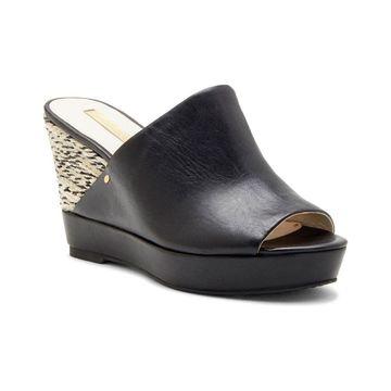 Louise Et Cie Womens Lo-Ramsaye Leather Peep Toe Casual