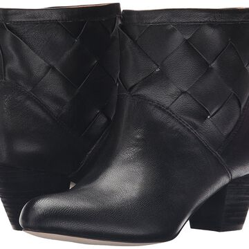 Corso Como Womens Benster Leather Round Toe Ankle Fashion Boots