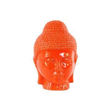 Urban Trends Collection: Ceramic Buddha Head Gloss Finish