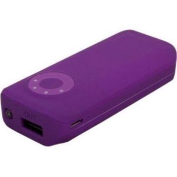 Urban Factory BAT57UF Emergency Battery 5600mah Pwr Dark Purple Usb 2 1 A Port