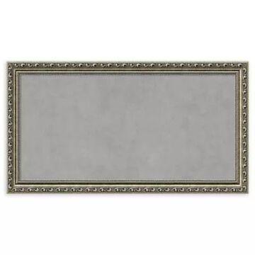Amanti Art Medium Framed Magnetic Board In Parisian Silver