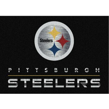 Pittsburgh Steelers Imperial 6' x 8' Chrome Rug