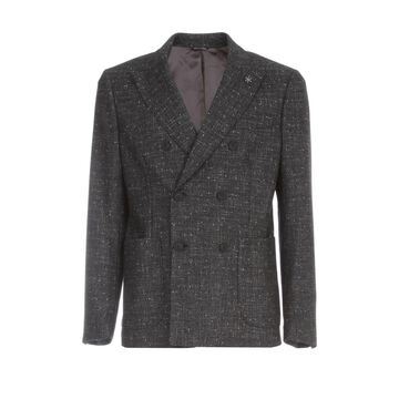Emanuel Ungaro Checked Double Breasted Jacket
