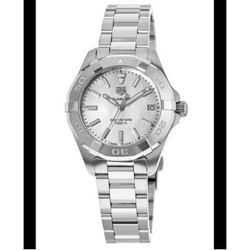Tag Heuer Aquaracer Lady 300M 32MM Mother of Pearl Dial Stainless Steel Women's Watch WBD1311.BA0740 WBD1311.BA0740