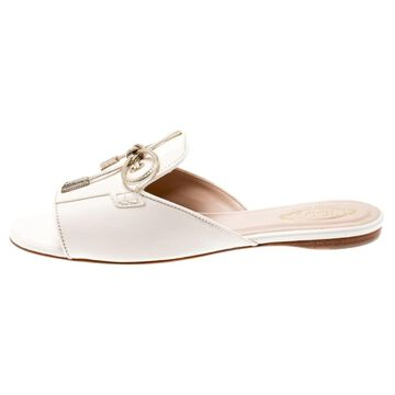 Tod's Pink Leather Sandals