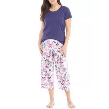 Hue Women's Scribble Dibble Pajama Set - -