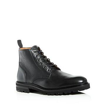 Aquatalia Men's Leaston Weatherproof Leather Boots
